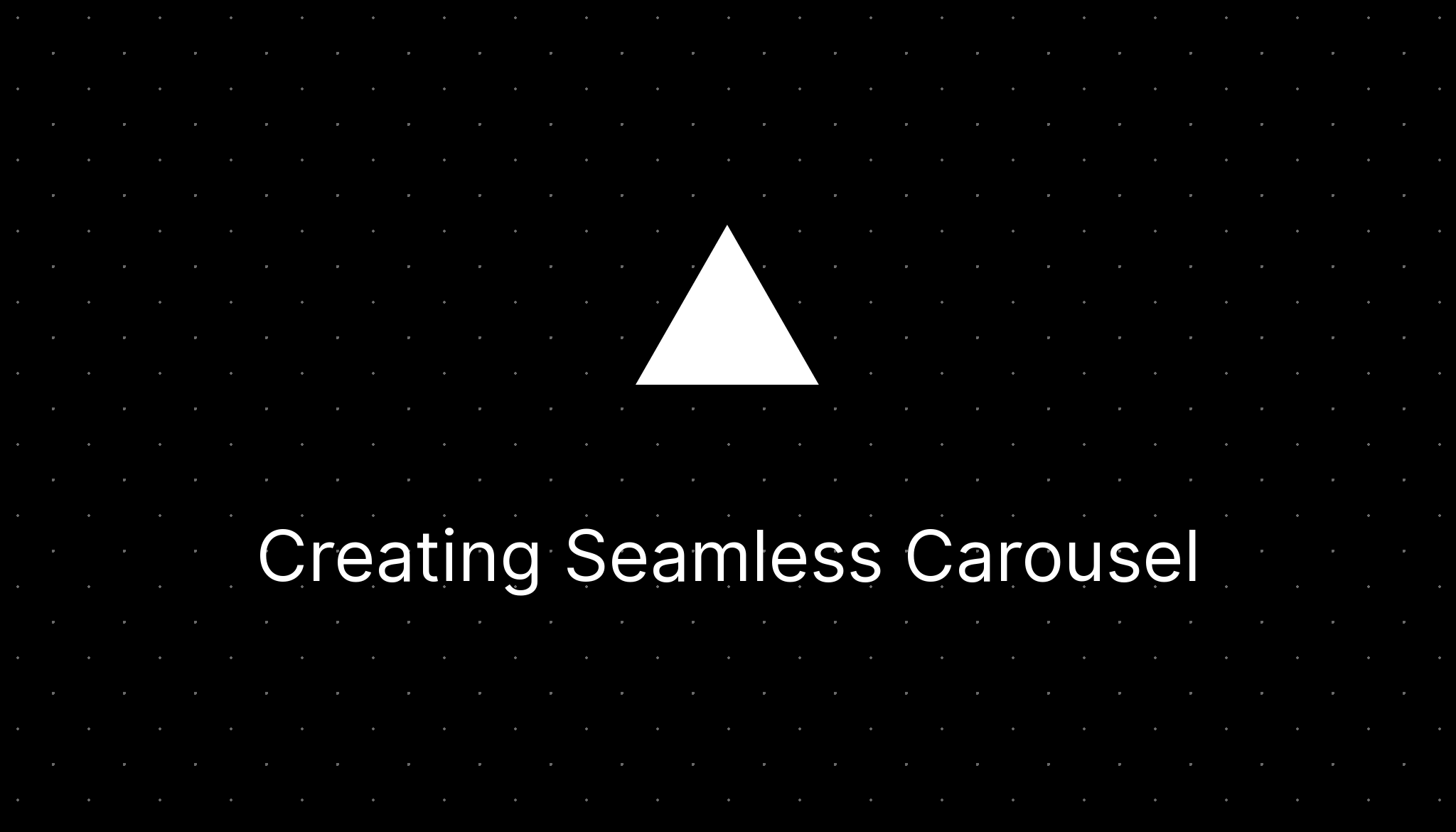 How to create seamless carousels for Instagram?