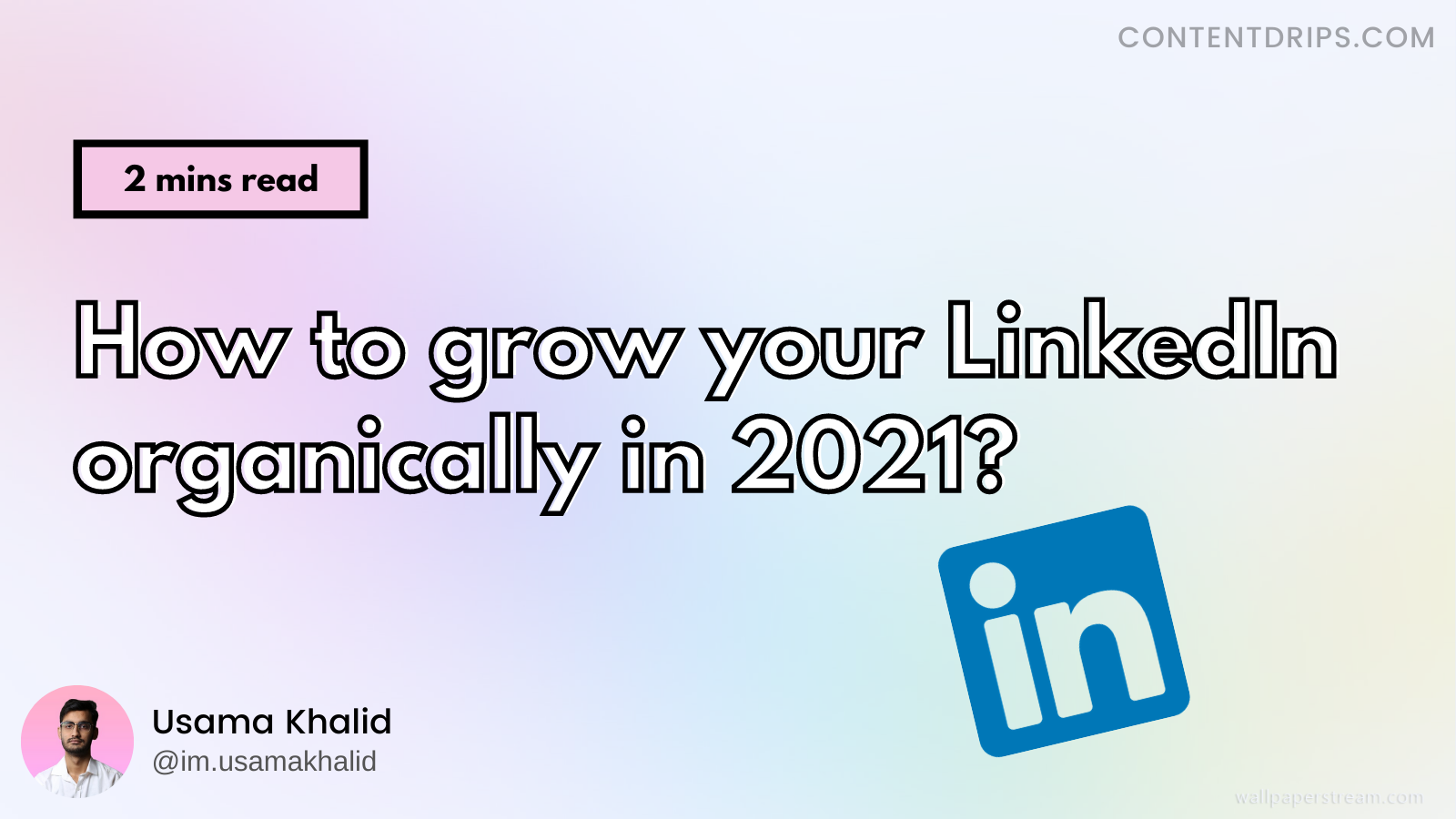 "Want to grow on LinkedIn? Start posting ""Carousels"""