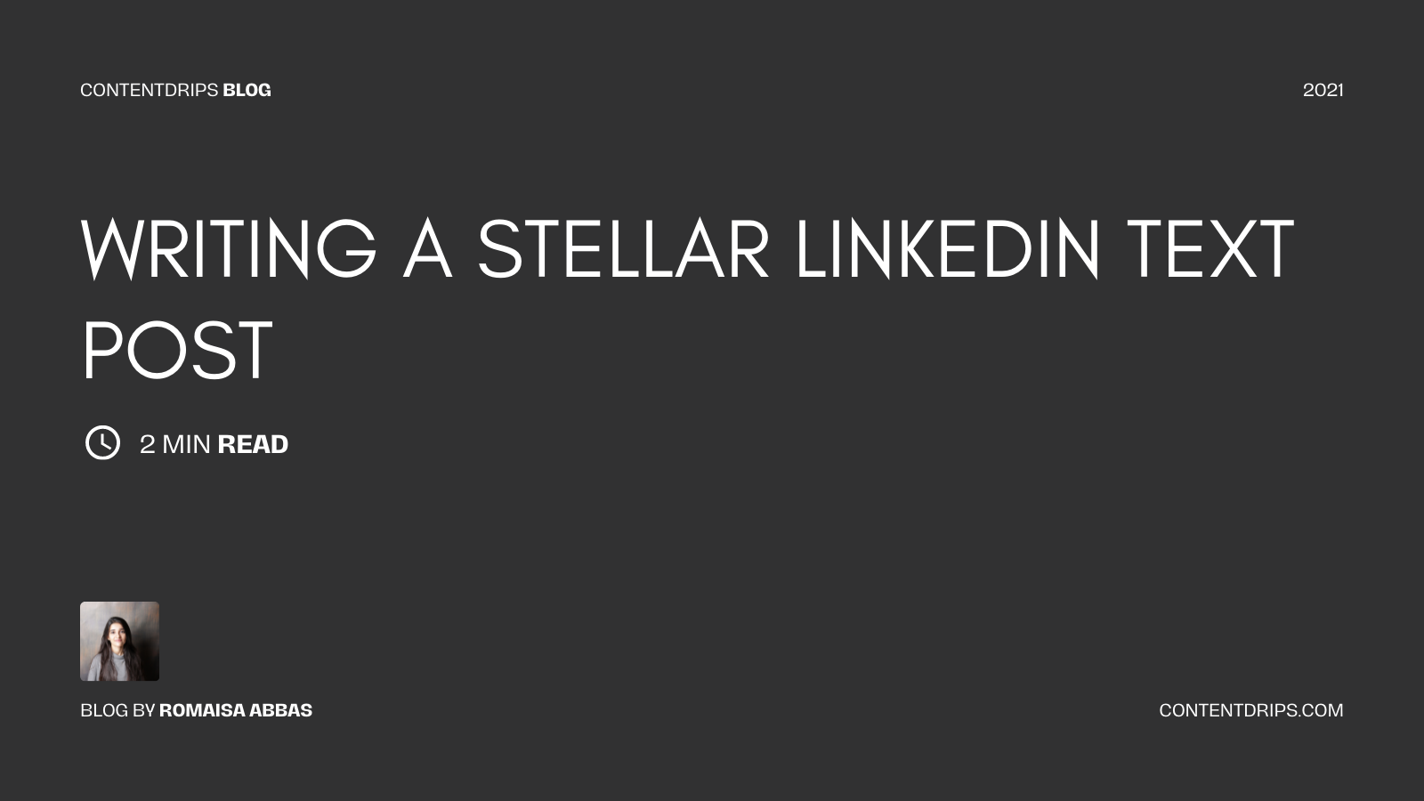 How to Write a Better-Performing LinkedIn Text Post?