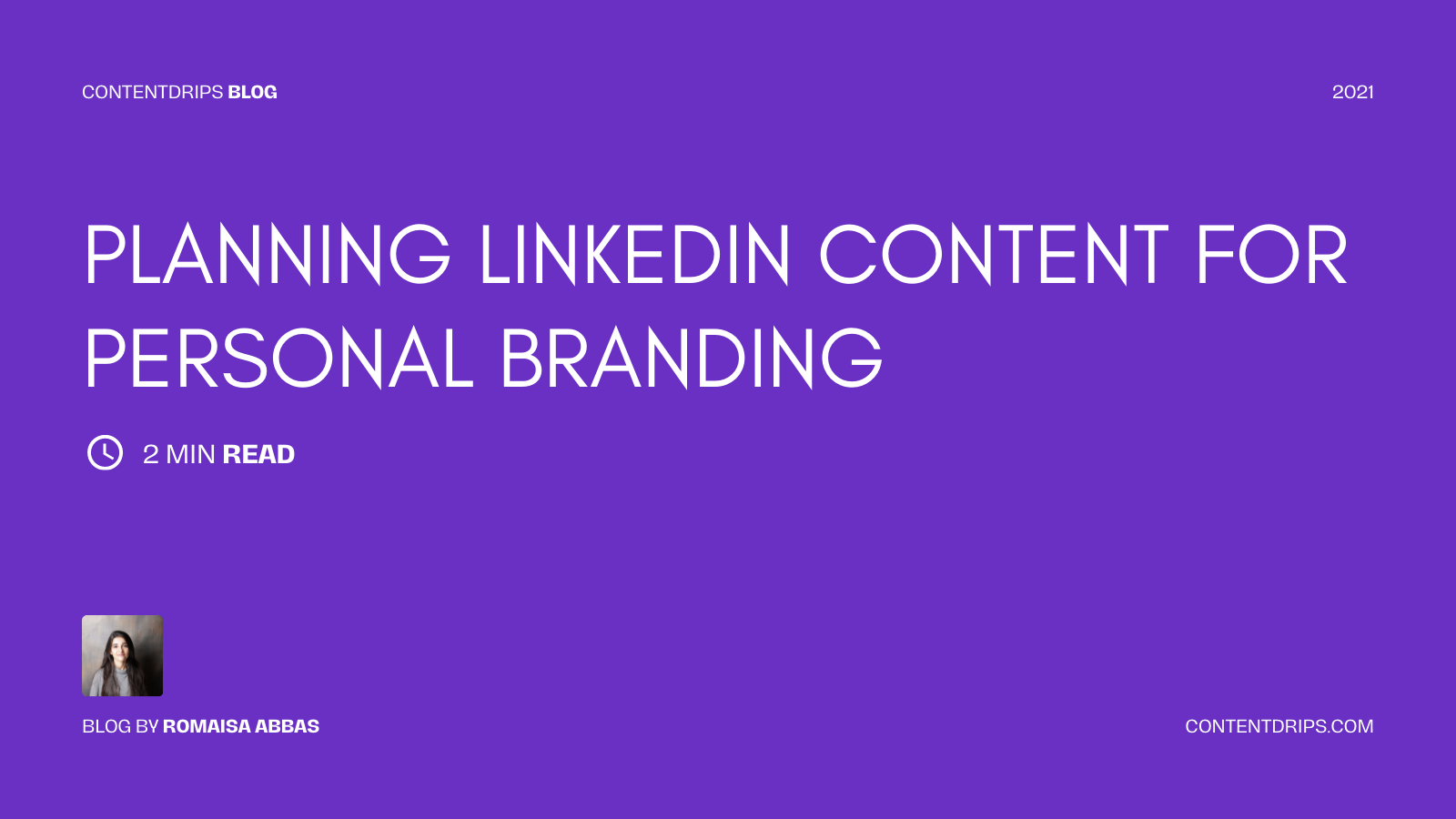 Linkedin Content for Personal Branding